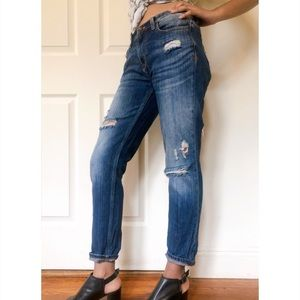 Zara distressed boyfriend jeans 2 JN
